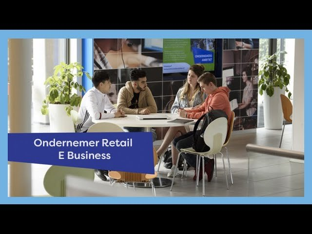 YouTube video - Voorlichting: Ondernemer Retail E-Business
