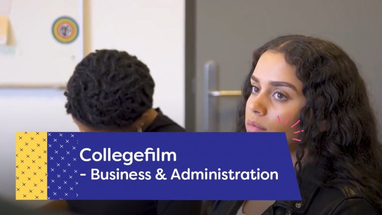 YouTube video - Business & Administration College in Utrecht